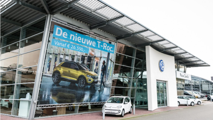 VW POUW PVC DOEKEN MESH DOEK