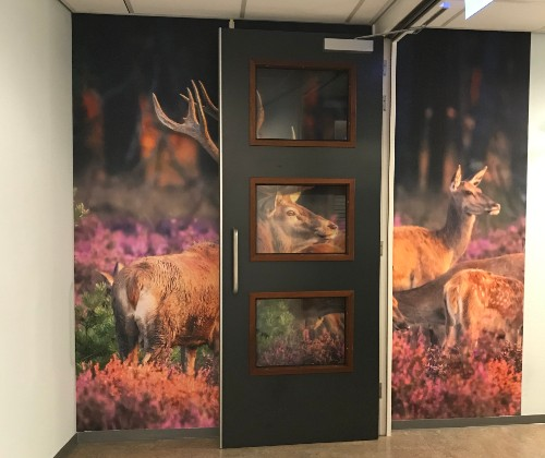 Indoor signing - airtex 2 - Thereca- van dijk signmakers