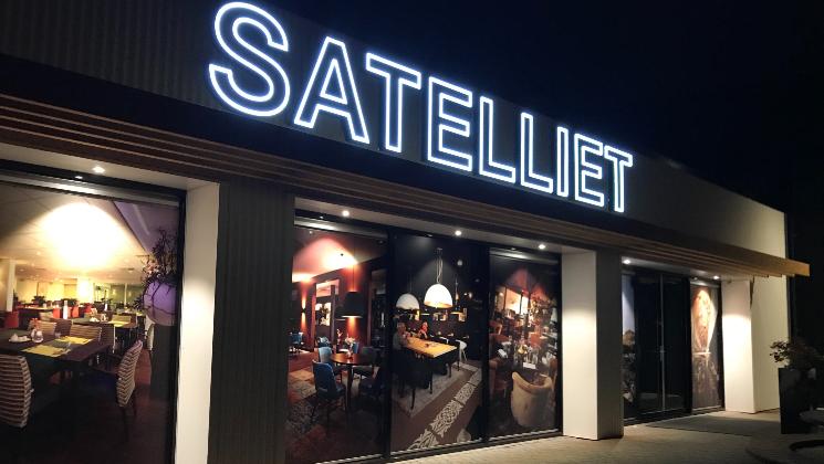 Gevelreclame satelliet Dalfsen