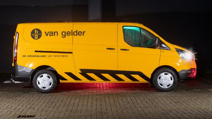 Van Gelder autoreclame