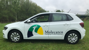 Autoreclame molecaten volkswagen Polo