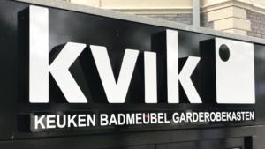 Gevelreclame Kvik Zwolle
