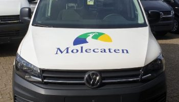 Bestelbus bestickeren - autoreclame -Molecaten - Van Dijk Signmakers 2