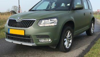 Auto wrappen Military Green mat - Van Dijk Signmakers 4