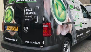 Autobelettering ep Zwolle