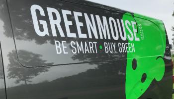Autoreclame GreenMouse detail