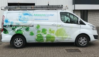 Autoreclame armada clean - van Dijk sigmakers 2