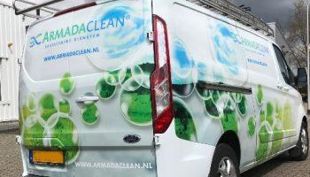 Autoreclame armada clean - van Dijk sigmakers4