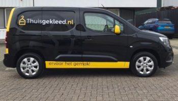 Autoreclame wrap belettering 4 Thuisgekleed - van dijk Signmakers