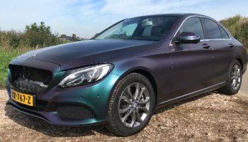 Autowrap Mercedes kleur parelmoer