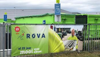 Full colour print reclame ROVA