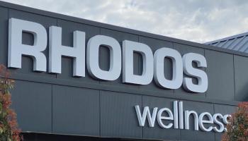 Rhodos wellness gevelreclame