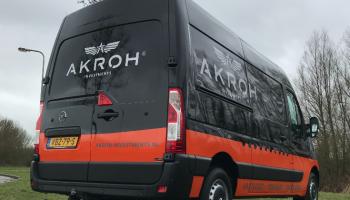 autoreclame Akroh bestelbus