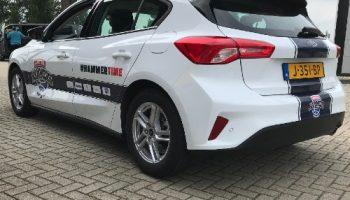 autoreclame Landstede Hammers auto bestickeren