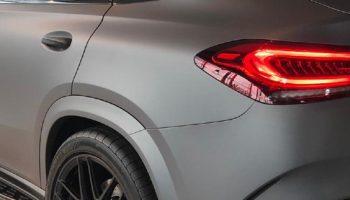 autowrap Mercedes AMG GLE 53 detail