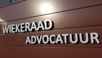 gevelreclame Wiekeraad Advocaten