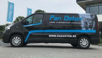 full colour print belettering bestelbus Pan Oston