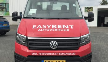 autoreclame easyrent vw crafter