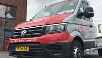 autoreclame vw crafter